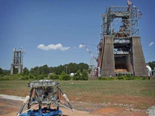 Test Stands Make Way for Reusable Robotic Lander