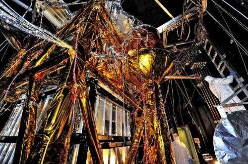 The Webb Telescope's 'Golden Spider'