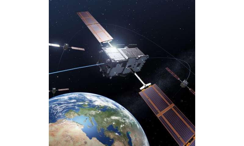 Third Galileo satellite begins transmitting navigation signal