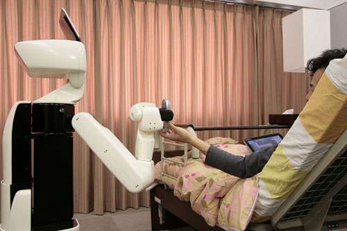 Toyota will showcase support robot for homebound