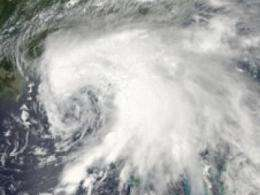 NASA sees Tropical Storm Debby's clouds blanket Florida