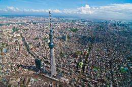 High grade steel production technologies made Tokyo Sky Tree possible