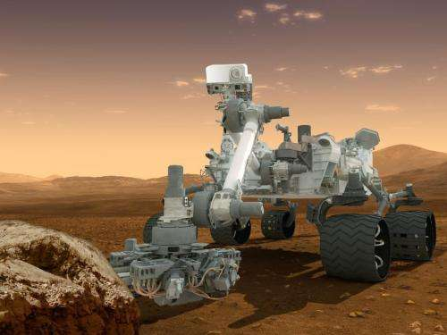 Curiosity rover checks in on Mars using Foursquare