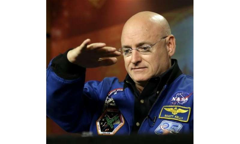 Astronaut, cosmonaut brace for whole year in space