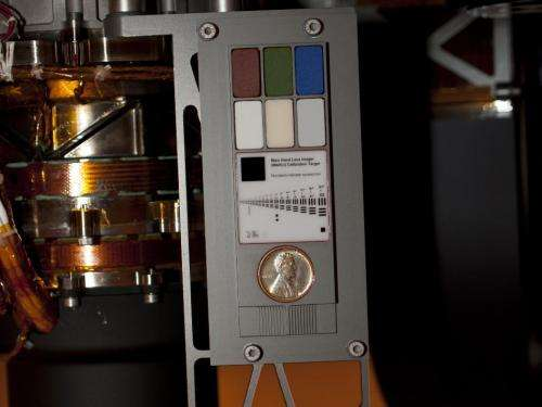 Mars-bound NASA rover carries coin for camera checkup