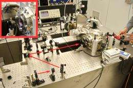 Micromechanical mirror performs under pressure...of light