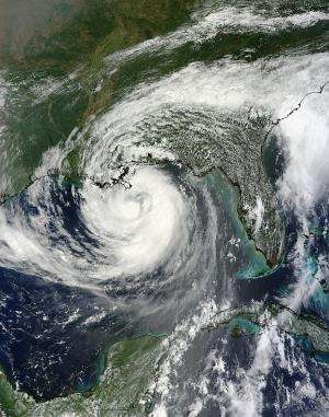 NASA sees Hurricane Isaac affecting the Northern Gulf Coast