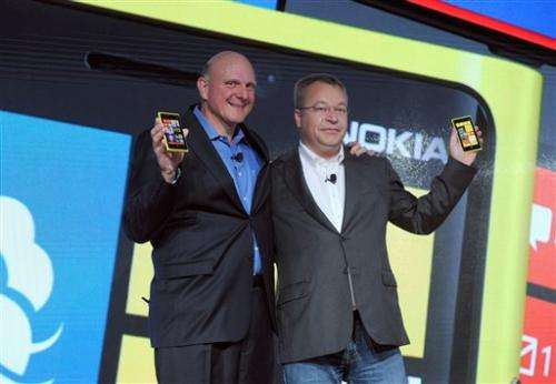 Nokia shows off new Windows smartphones
