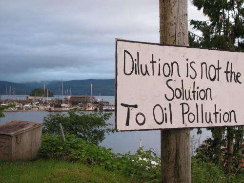 Single spill could wipe out economic gains from Northern Gateway