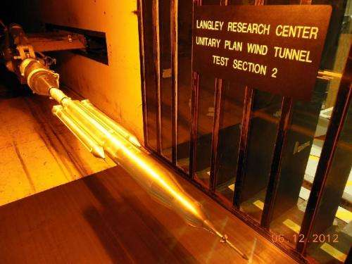 Smooth sailing: Space launch system giving Marshall, Langley wind tunnels a workout