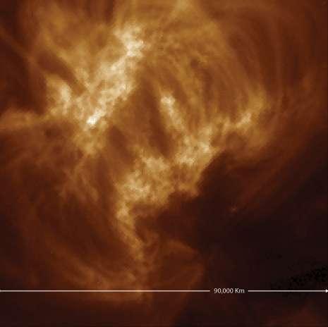 Spotting ultrafine loops in the sun's corona