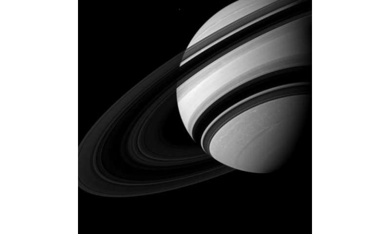 Swirling vortex and mini moons: Spectacular views of the little things around Saturn