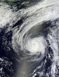 Typhoon Sanvu had a bad weekend