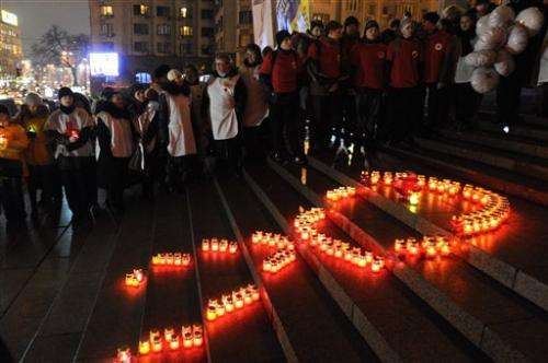 Ukraine fights spreading HIV epidemic