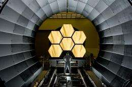 Webb Telescope Gets 'Golden Touch'