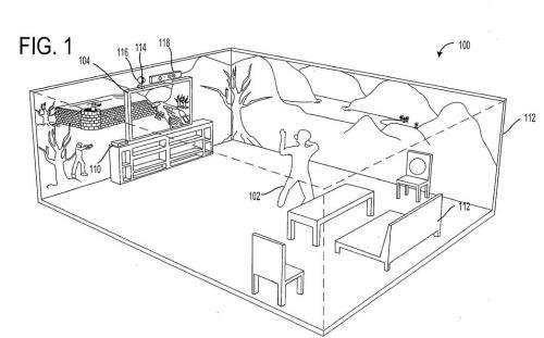 Microsoft has patent ambitions for immersive gaming