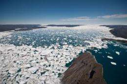 International study provides more solid measure of melting in polar ice sheets