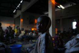 1st case of cholera hits Congo refugee camp