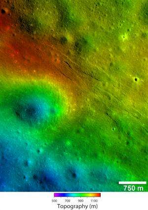 Lunar Reconnaissance Orbiter reveals recent geological activity on the Moon