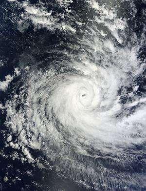 NASA sees Tropical Cyclone Anais headed near La Reunion Island