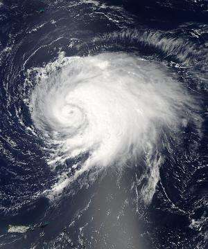 NASA satellite captured Hurricane Leslie's picture perfect moment