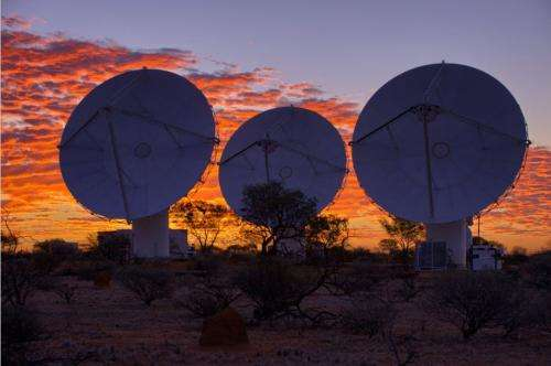 36-dish Australian telescope array opens for business