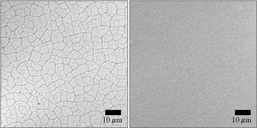 Researchers find new way to prevent cracking in nanoparticle films