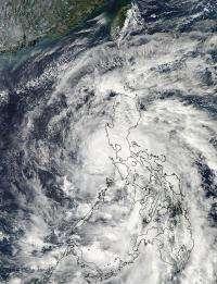 NASA sees Tropical Storm Son-tinh moving into South China Sea