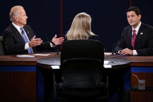 3Qs: Candidates spar in aggressive VP debate