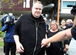 Megaupload boss Kim Dotcom, 38, curently is free on bail