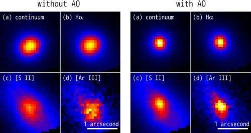 Subaru telescope pioneers the use of adaptive optics for optical observations