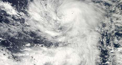 NASA sees Tropical Storm Bopha moving through Southern Yap state