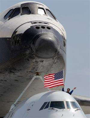 After victory lap, Endeavor rolls to retirement