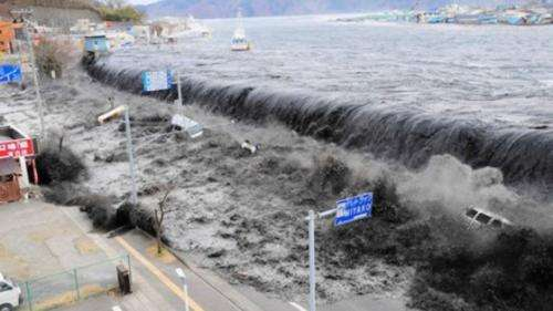 Scientists explain scale of Japanese tsunami