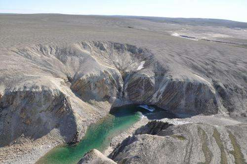 Researchers discover new impact crater in the Arctic