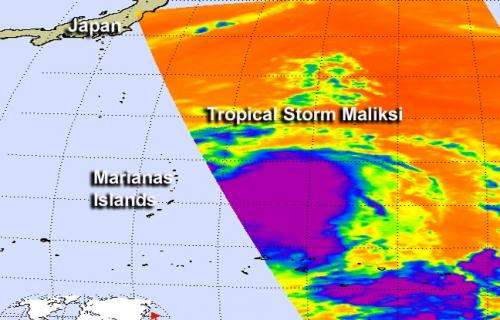Tropical Storm Maliksi forms, Iwo To on guard