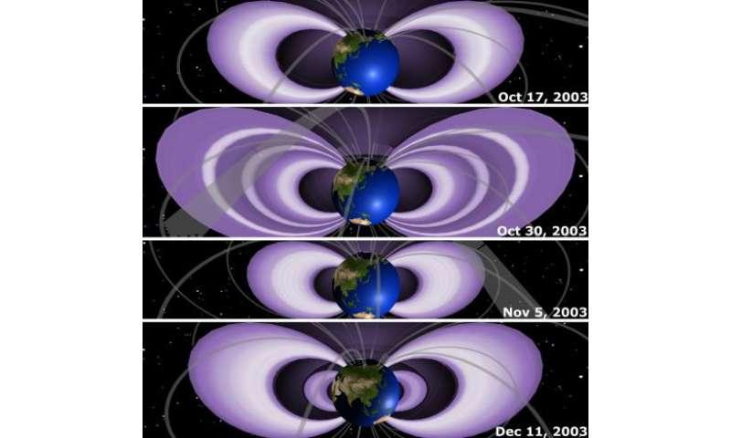 NASA's THEMIS satellite sees a great electron escape