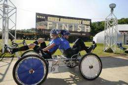 The winners! NASA's 19th annual great moonbuggy race