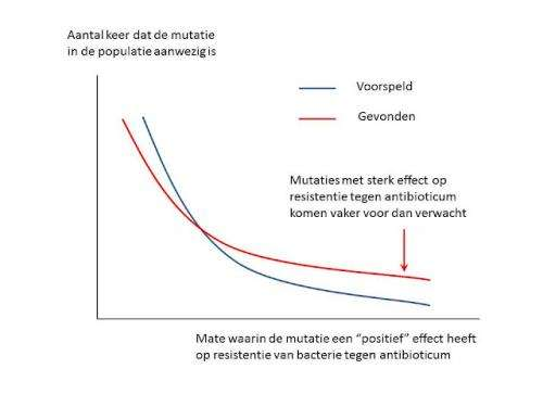 Development of antibiotic resistance more predictable than expected