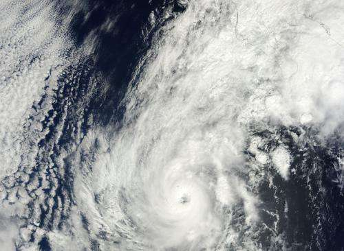 NASA sees Hurricane Paul 'eye' Mexico's Socorro Island, coastline
