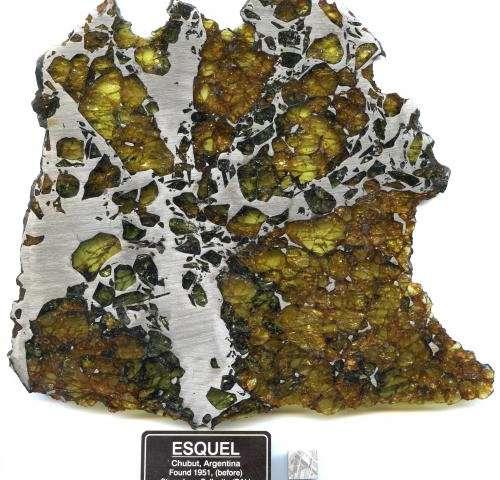 Rare meteorites created in violent celestial collision