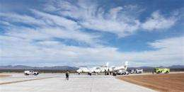 $7M spaceport runway extension OK'd (AP)