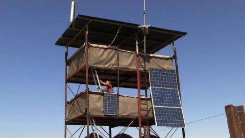 Stanford researchers use solar power to study elephants in Africa