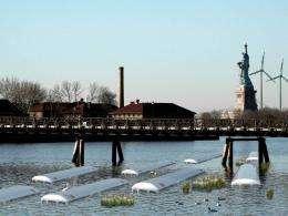 CCNY landscape architect offers storm surge defense alternatives