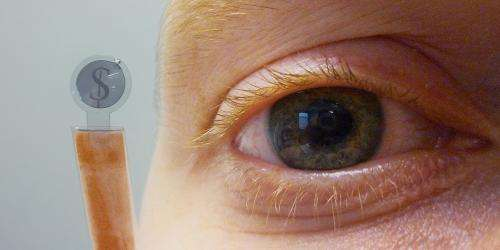 Breakthrough in augmented reality contact lens: Curved LCD display holds widespread potential