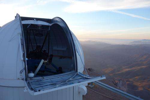 Las Cumbres Observatory gains first light for entire 1-meter node at CTIO