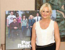 "Actress Amy Poehler attends the Emmy Screening for NBC's ""Parks and Recreation"""
