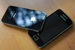 A Dutch court ruled on Wednesday that Apple has infringed on a patent held by South Korean rival Samsung