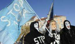 An international day of rallies against the Anti-Counterfeiting Trade Agreement (ACTA) has been scheduled for Saturday