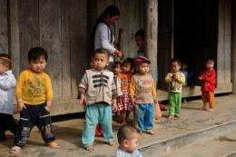 An outbreak of a mysterious skin disease in central Vietnam which has killed 19 people, mostly children
